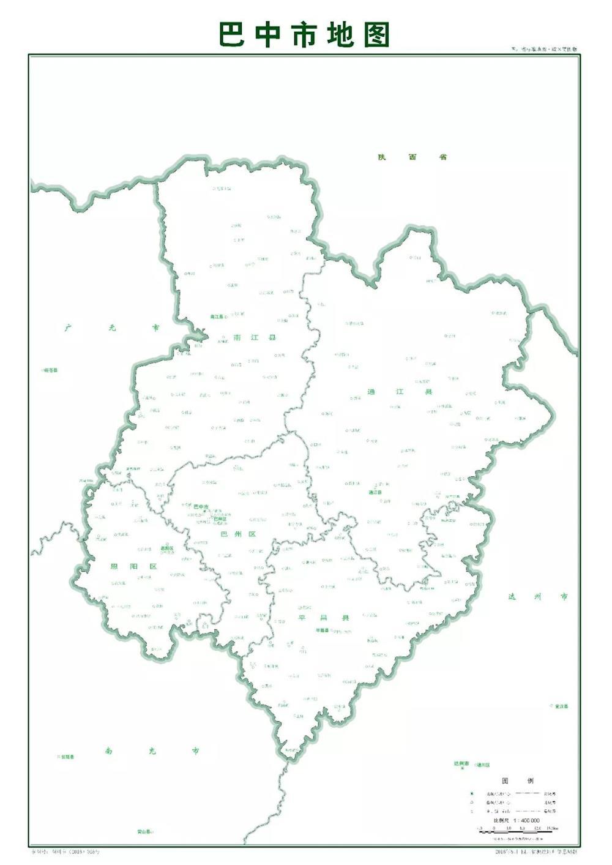 巴中市辖巴州区,恩阳区,通江县,南江县,平昌县2区3县,幅员面积1.
